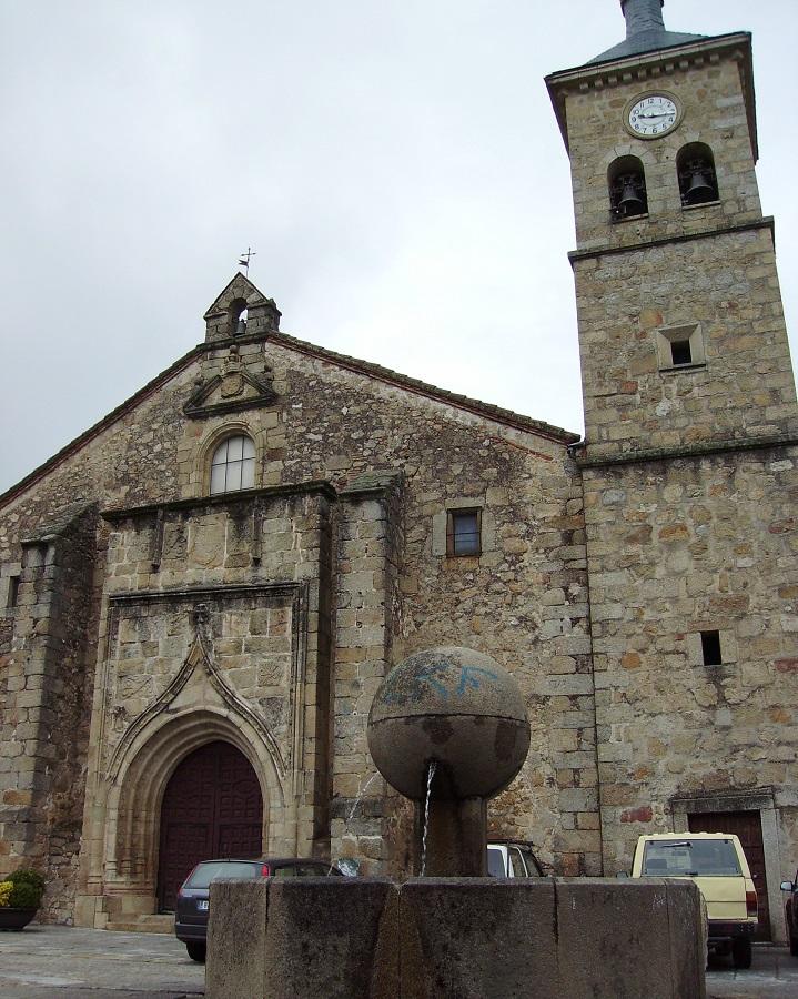 Losar de la Vera. Iglesia de Santiago.